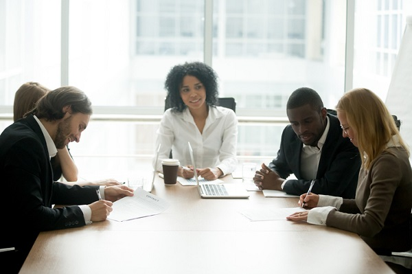 Law clerks have to handle working on their own as well as collaborating with a team
