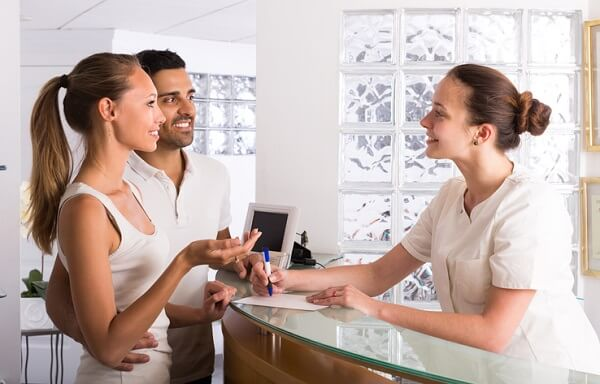 A career as a medical administrative assistant is a good choice if you enjoy talking with people