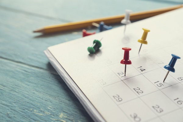 Your calendar can be your best friend as a medical administrator